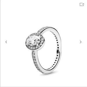 Pandora vintage oval ring